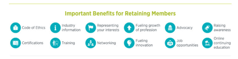 Benefits for Retaining Members